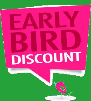 EarlyBird discount