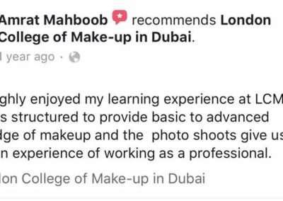 Testimonials - Amrat Mahboob