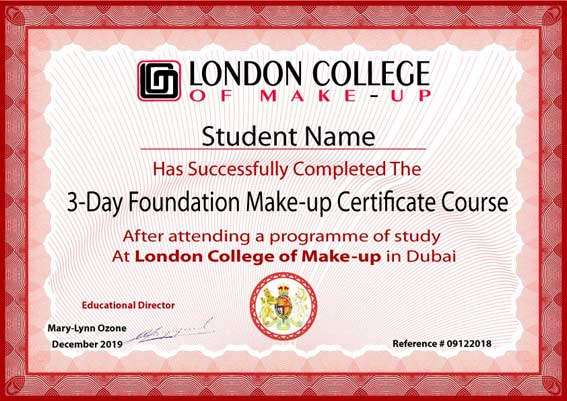 3-Day Foundation Makeup Course - London College of Makeup