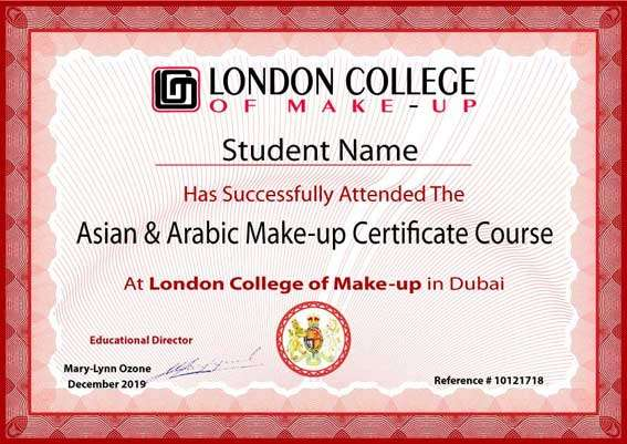 The Advanced Makeup Certificate Course