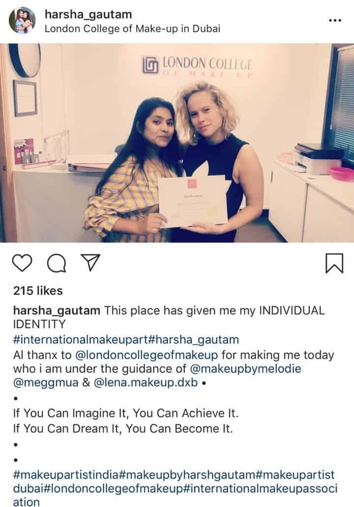 London College Of Makeup In Dubai