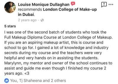 Testimonials - Louise Monique